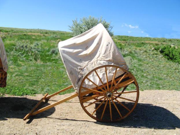 Image result for lds handcart