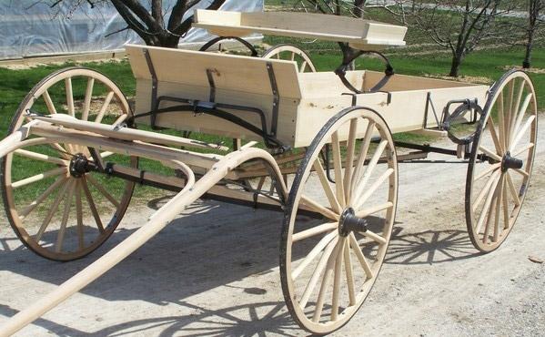 Buckboard Wagon